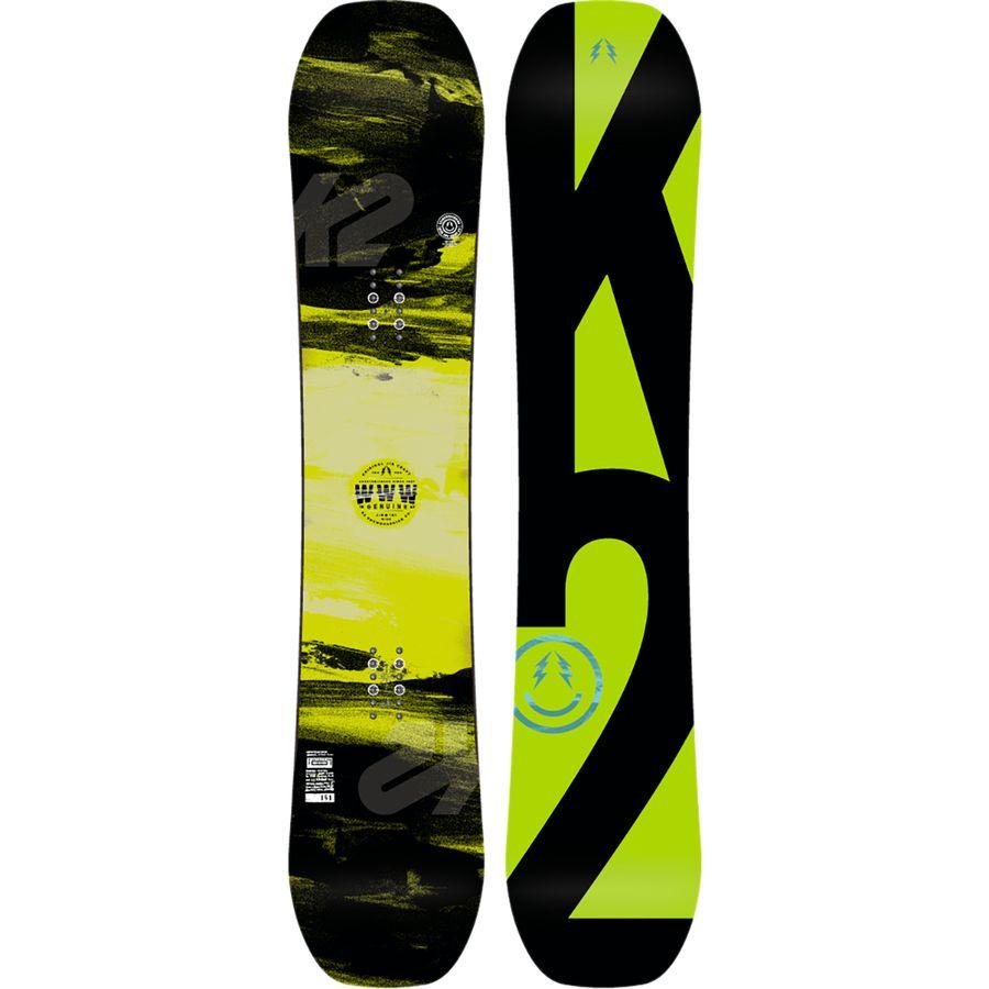 K2 Snowboards World Wide Weapon Snowboard - Wide
