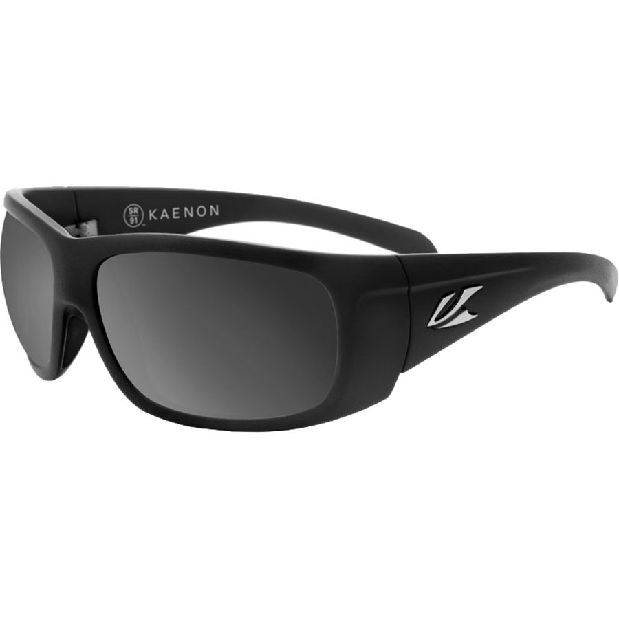 7d1952da4c Kaenon - Cliff Polarized Sunglasses - Men s - Black Label Grey Polarized  Black Mirror