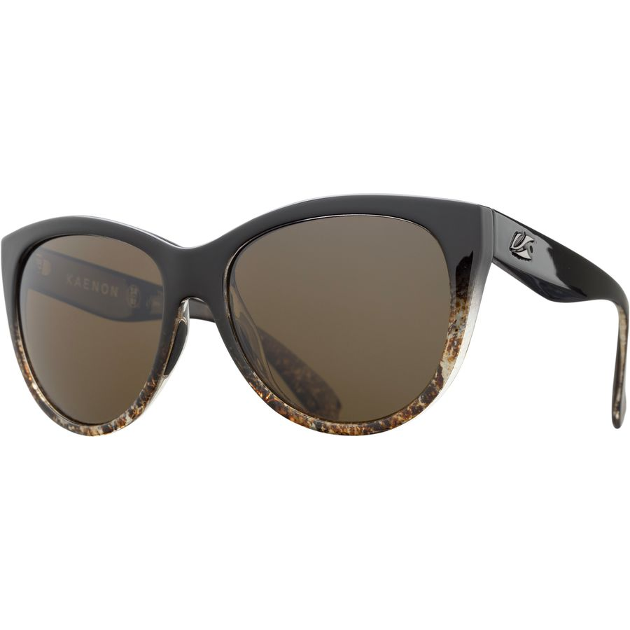 f7a523a7d4 Kaenon - Palisades Polarized Sunglasses - Black Sand Brown 12-Polarized