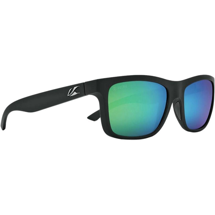 40b02360a6 Kaenon - Clarke Ultra Polarized Sunglasses - Black Matte Grip Ultra Coastal  Green Mirror
