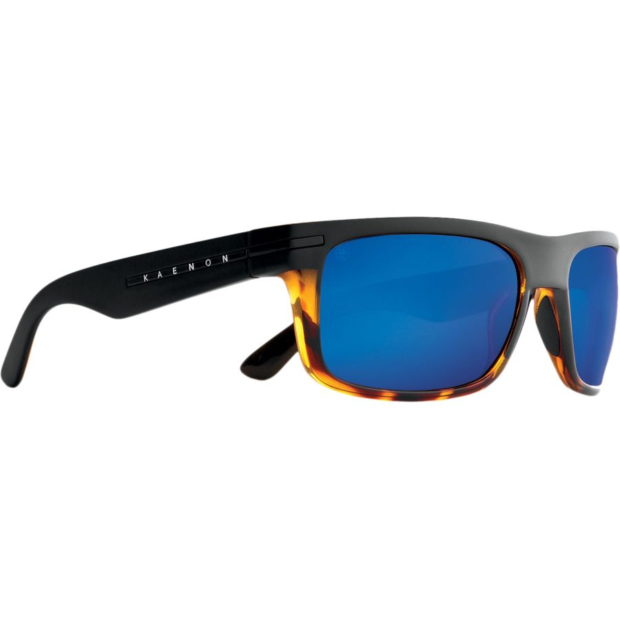 dd6f6b78ceb4 Kaenon - Burnet Polarized Sunglasses - Matte Black Tortoise Pacific Blue  Mirror
