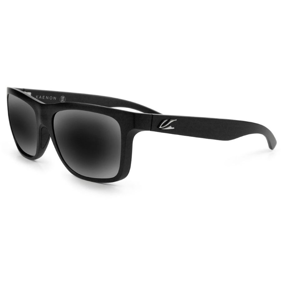 4931f81e43 Kaenon - Clarke Polarized Sunglasses - Black Label Grey 12-Polarized Black  Mirror