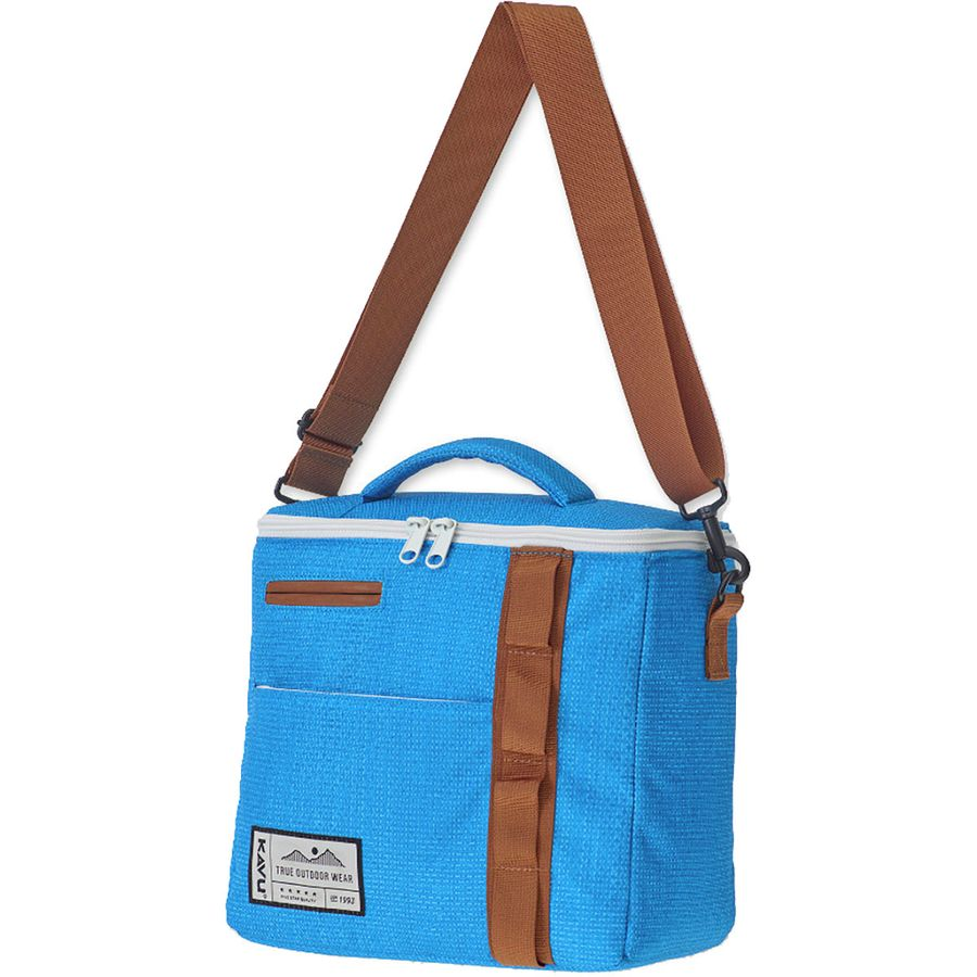 10cc8de6f1 KAVU - Snack Sack Cooler Bag - Blue Tarp