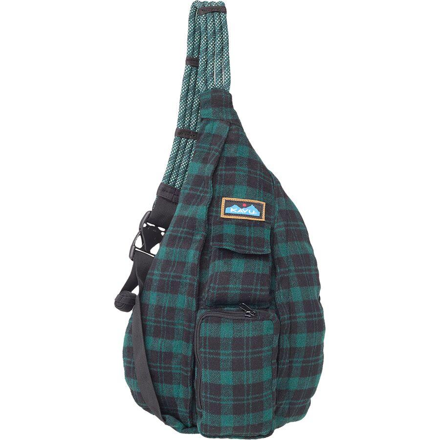 KAVU Plaid Rope Bag - Womens