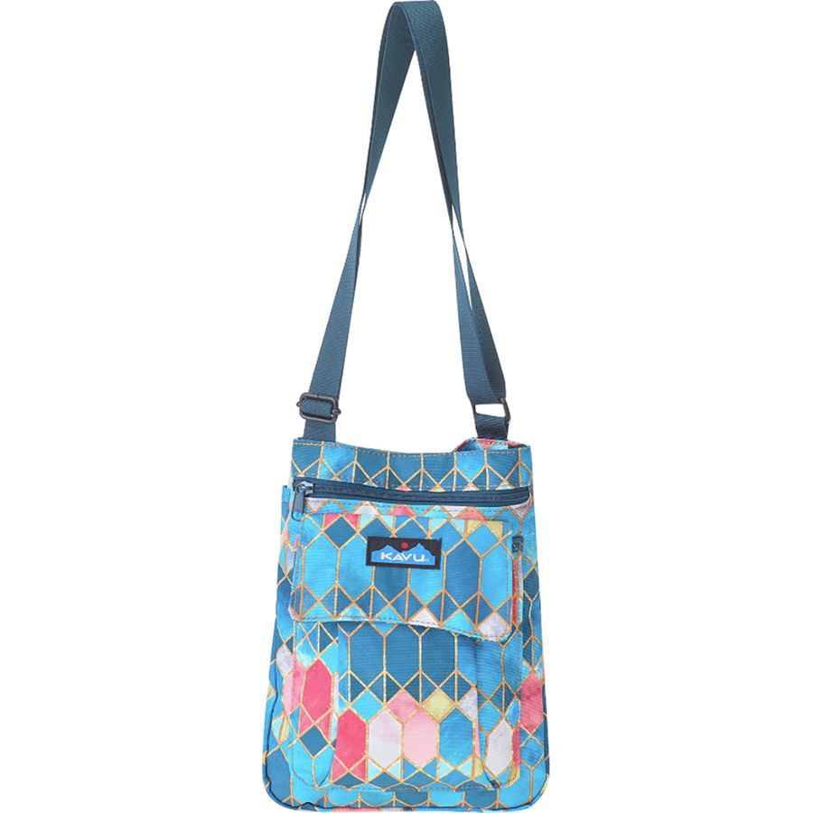 Kavu For Keeps Cross Body Bag Women S Stained Glass