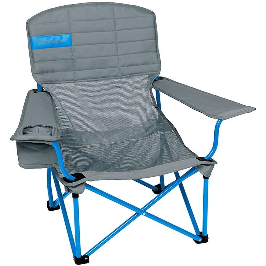 Kelty   Lowdown Mesh Chair   Smoke/Paradise Blue