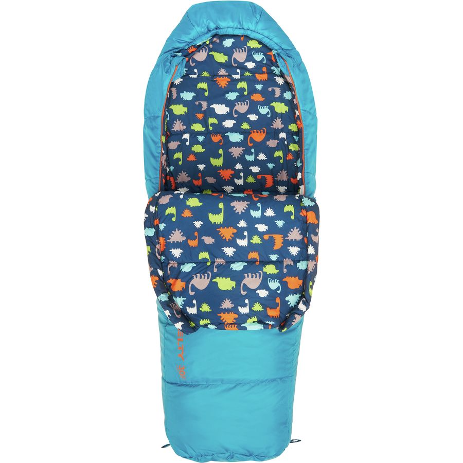 Kelty Woobie 30 Sleeping Bag Degree Synthetic Kids Mosaic Blue
