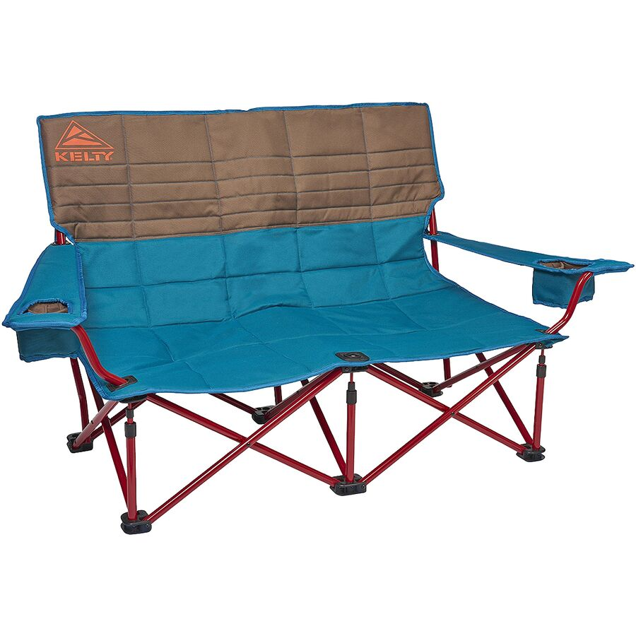 Cozy up with a loveseat camping chair