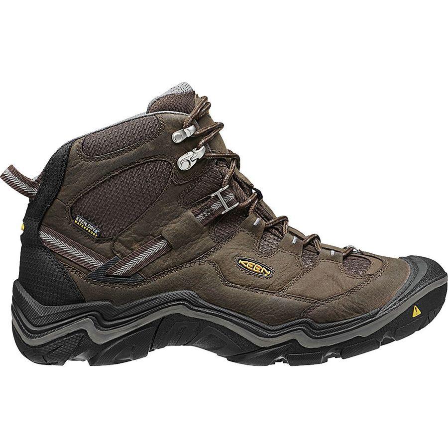 e21f279b8a0c KEEN - Durand Mid Waterproof Hiking Boot - Men s - Cascade Brown Gargoyle