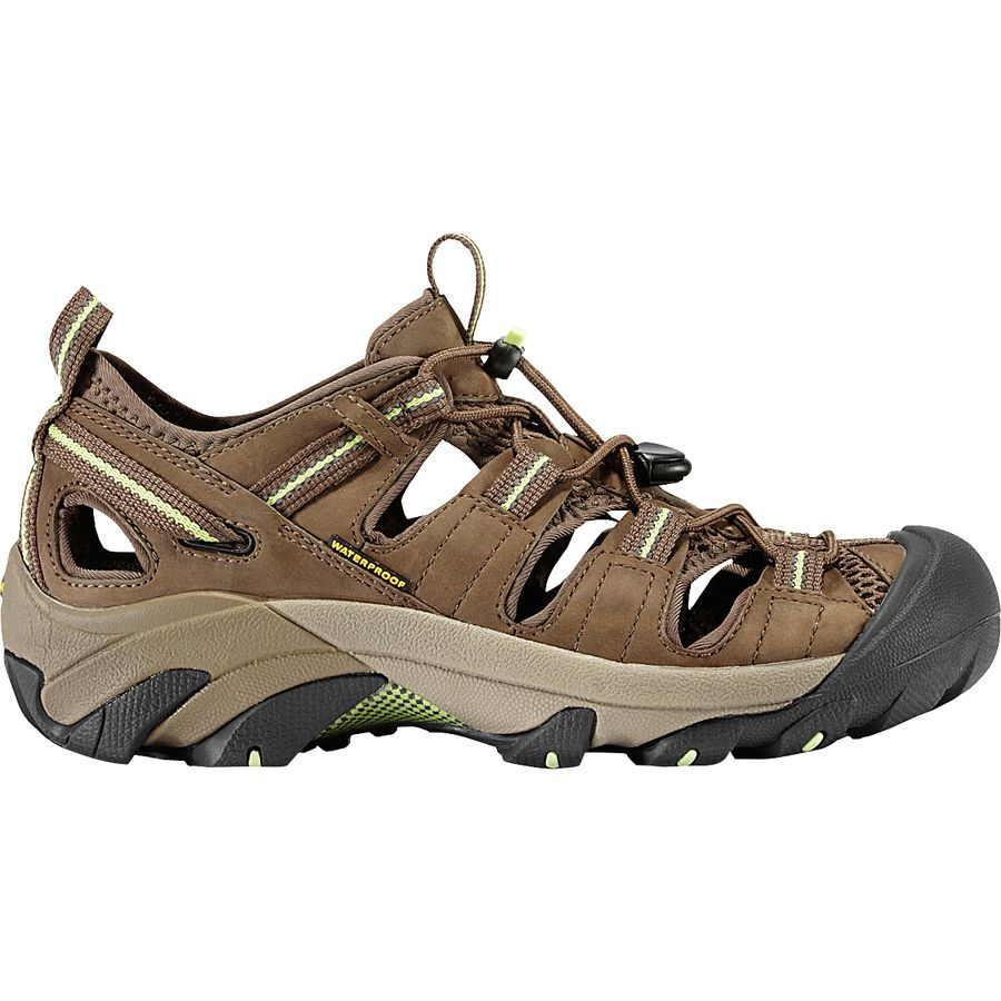 a7c012d1d61 KEEN - Arroyo II Hiking Shoe - Women's - Chocolate Chip/Sap Green