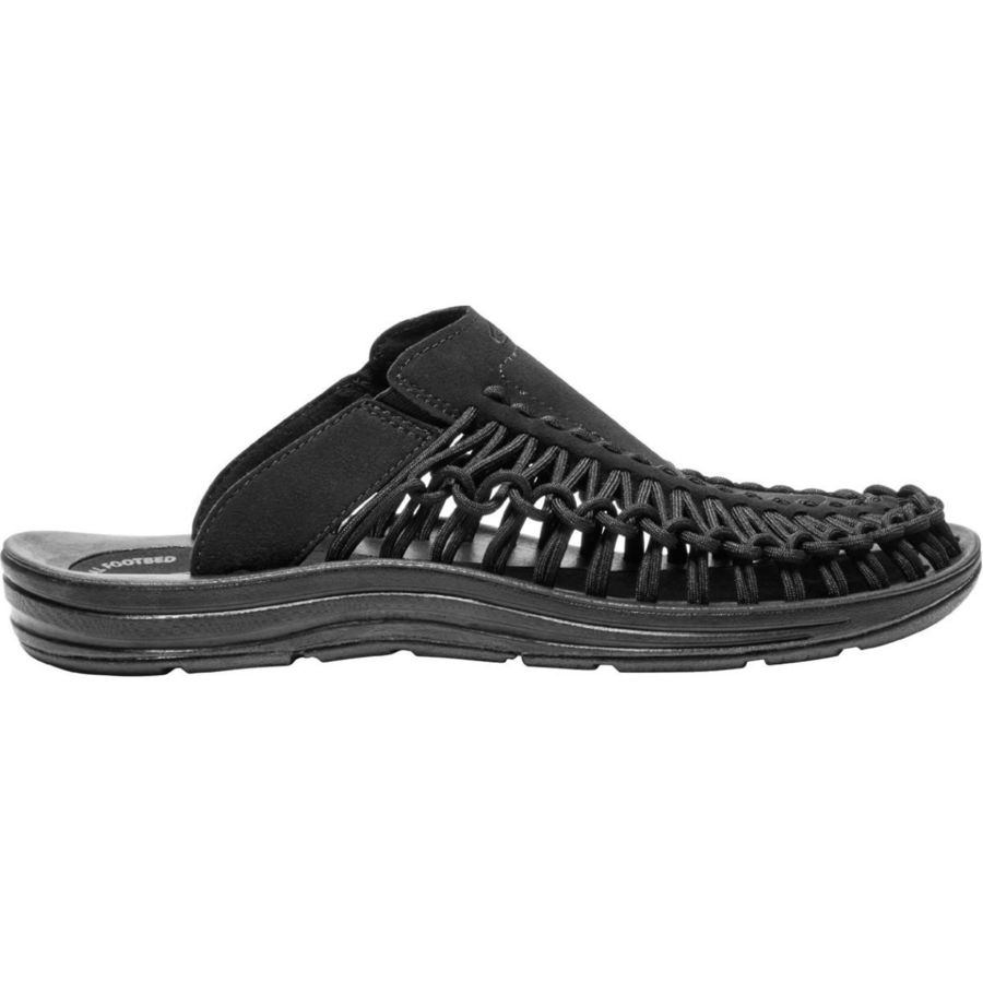 5197cd2cfe9b KEEN - Uneek Slide Sandal - Men s - Black Black