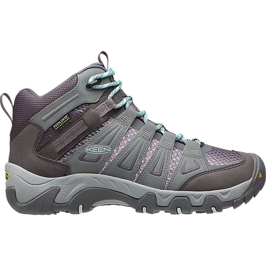 KEEN Oakridge Mid Waterproof Hiking Boot - Womens