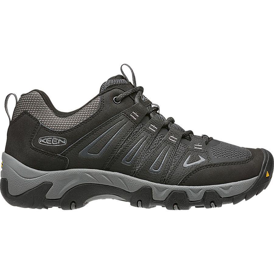 cac265e5f30b KEEN - Oakridge Hiking Shoe - Men s - Black Gargoyle