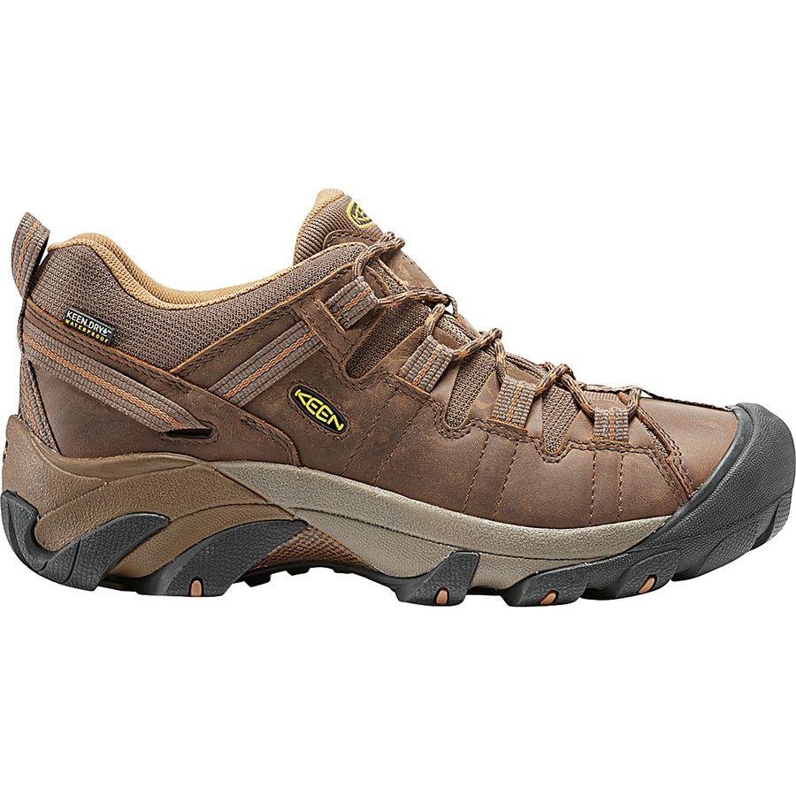 70922a83fb85 KEEN - Targhee ll Waterproof Hiking Shoe - Men s - Cascade Brown Brown Sugar