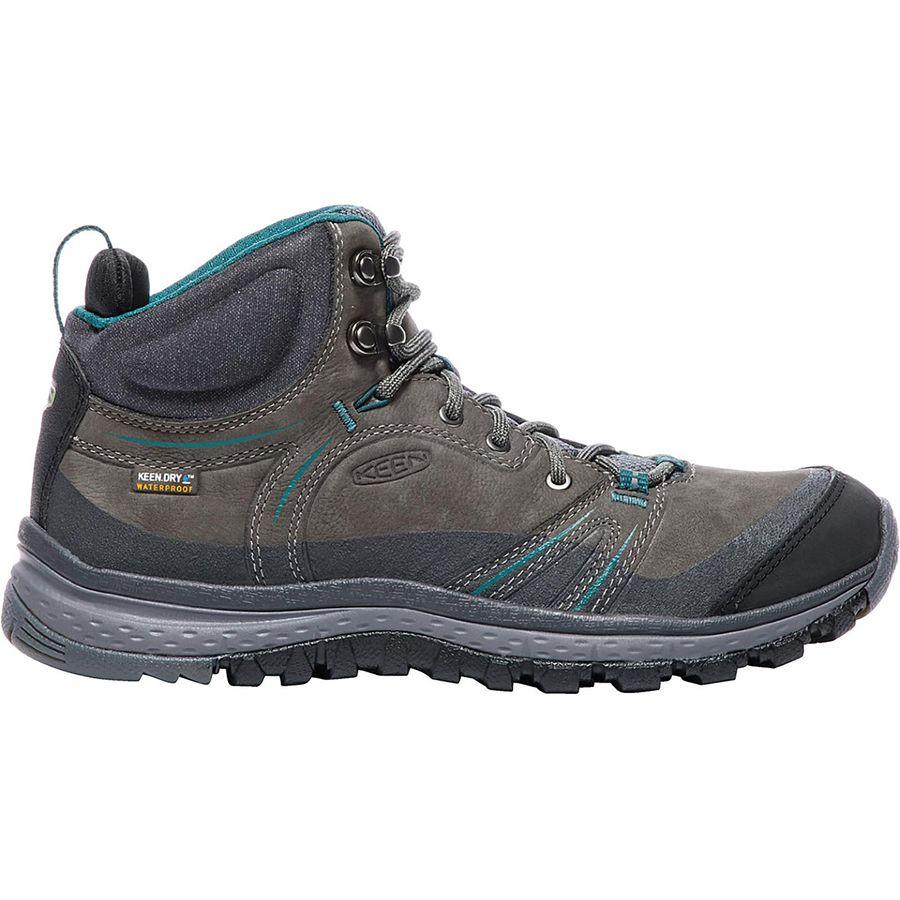 KEEN - Terradora Leather Mid Waterproof Boot - Women's - Mushroom/Magnet