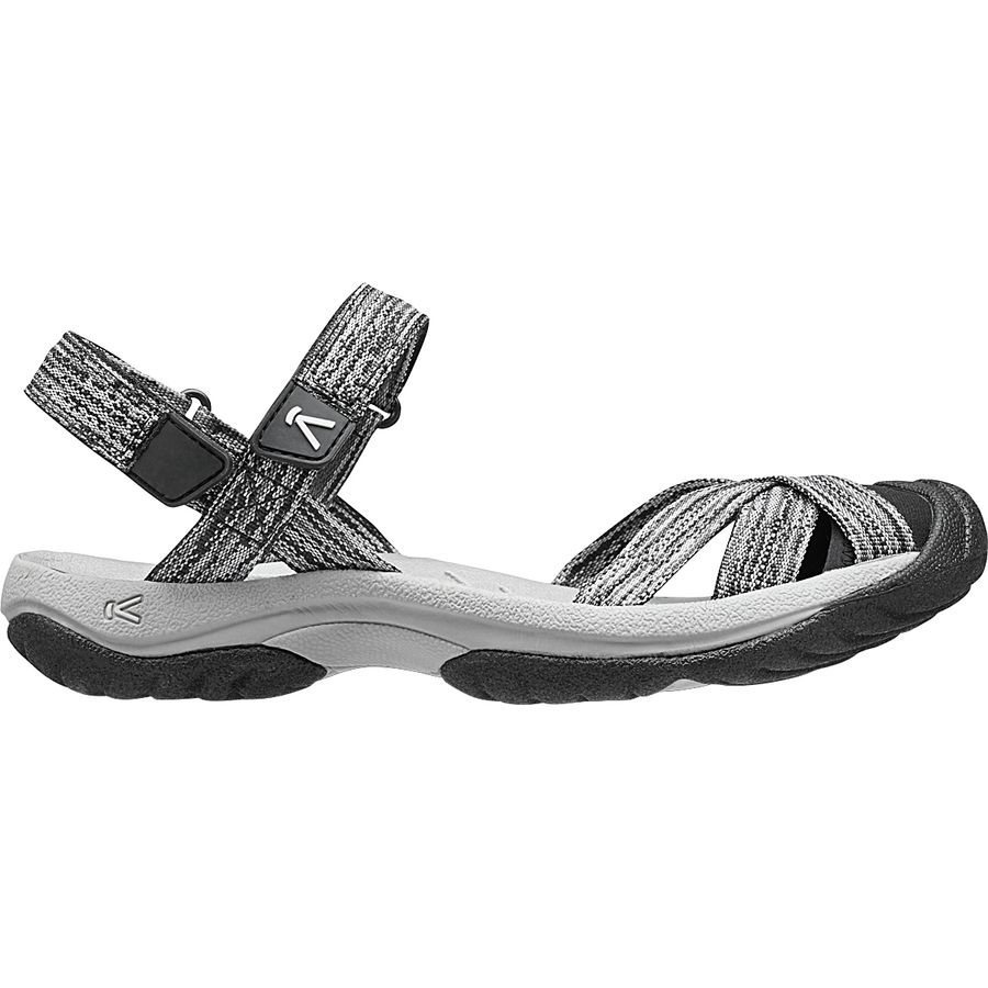 KEEN - Bali Strap Sandal - Women's - Neutral Gray/Black