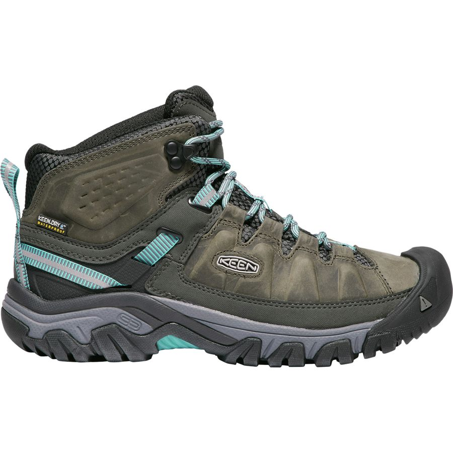 Keen TARGHEE III - Hiking shoes - weiß/boysenberry CPAAIRzd