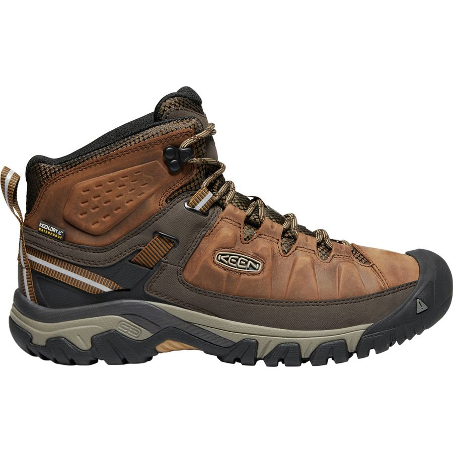 a88394d18114 KEEN - Targhee III Mid Leather Waterproof Hiking Boot - Men s - Big  Ben Golden
