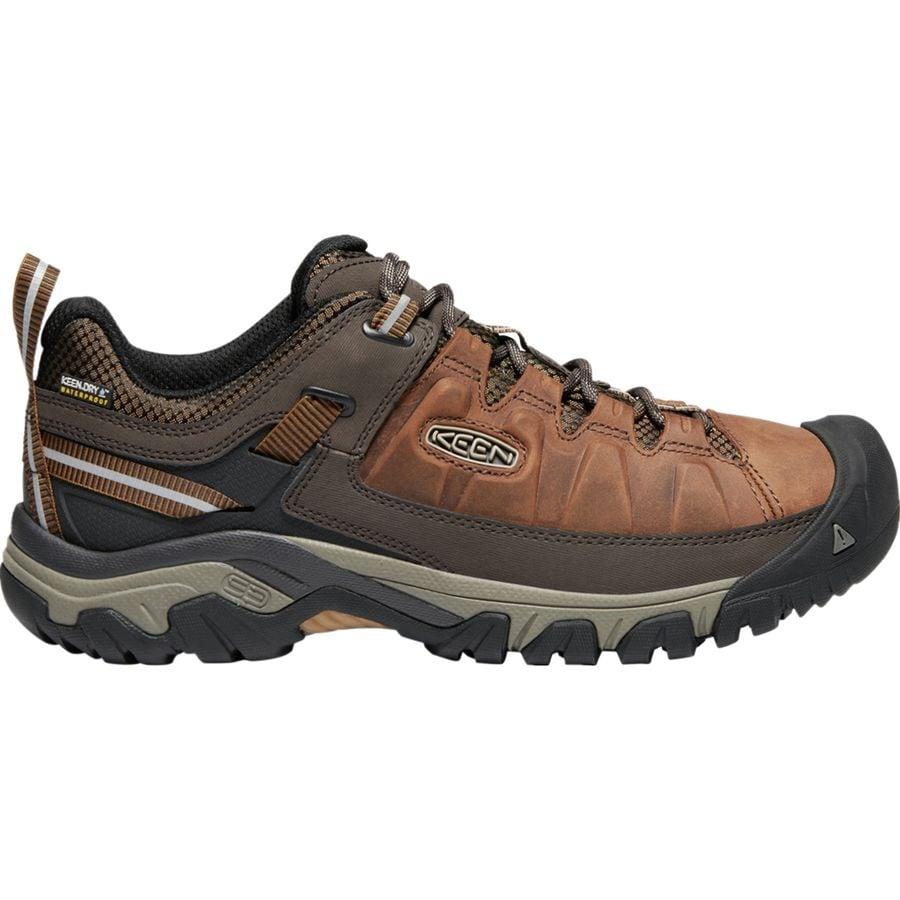 dfba26776bd KEEN Targhee III Waterproof Leather Hiking Shoe - Men s ...