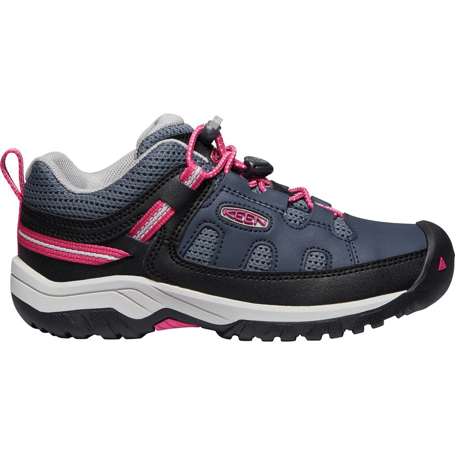 94c0878b375f KEEN - Targhee Low Hiking Shoe - Girls  - Blue Nights Vivacious