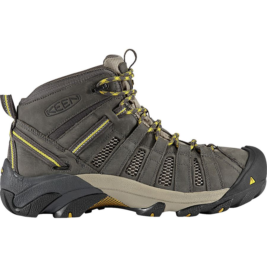 c960f45fce KEEN - Voyageur Mid Hiking Boot - Men's - Raven/Tawny Olive