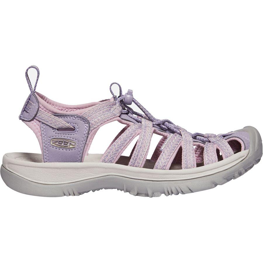 Keen Whisper Womens Grey Walking Trail Outdoors Walking Sandals Summer Shoes
