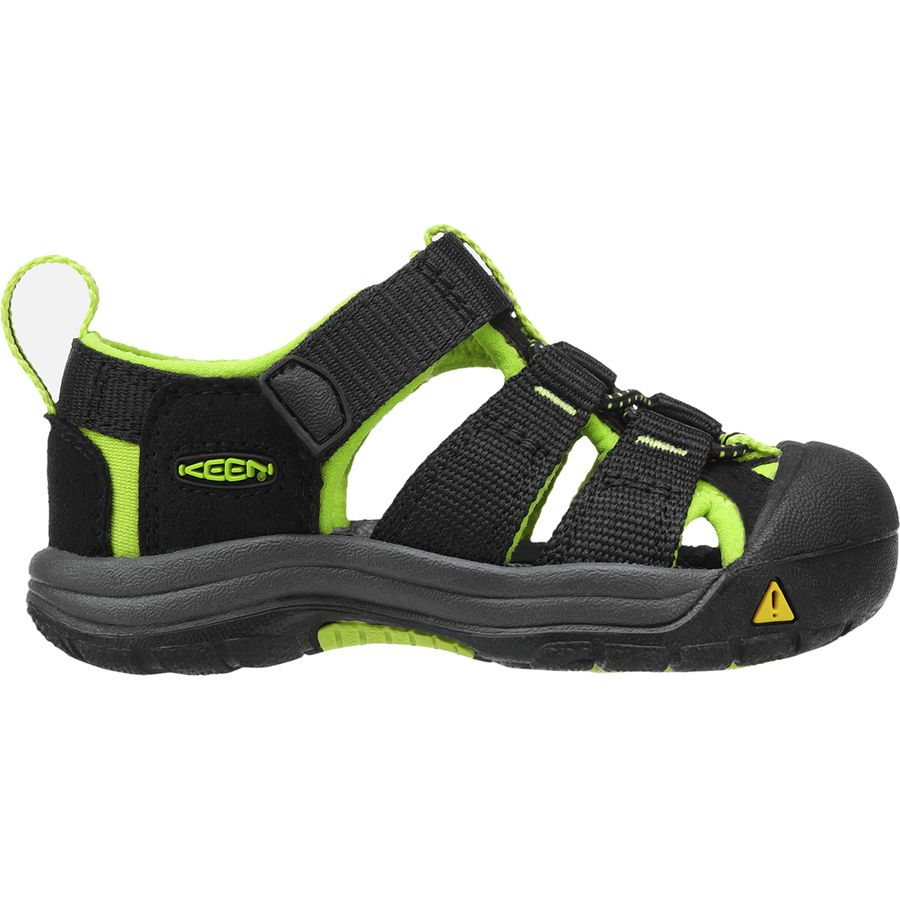 KEEN - Newport H2 Sandal - Toddler Boys  - Black Lime Green