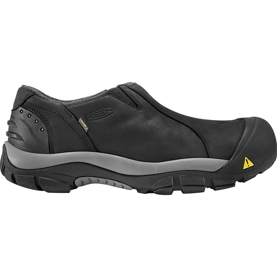 32320446051e KEEN - Brixen Low Waterproof Shoe - Men s - Black Gargoyle