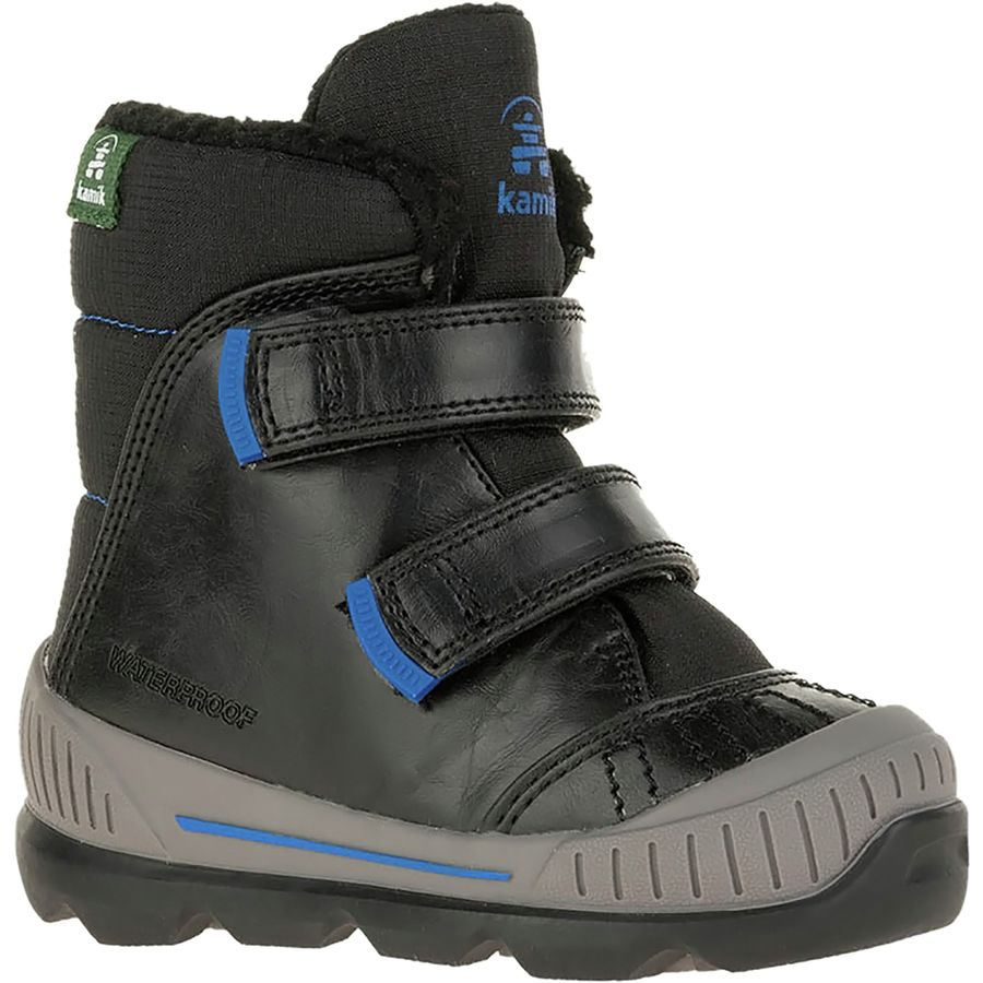 6e9814436495 Kamik - Parker2 Winter Boot - Toddler Boys  - Black Blue