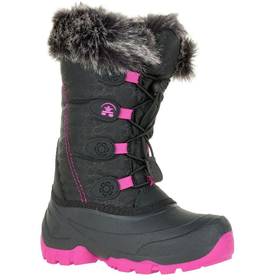 7e4c8374d5c0b Kamik - Snowgypsy Boot - Girls  - Black Magenta