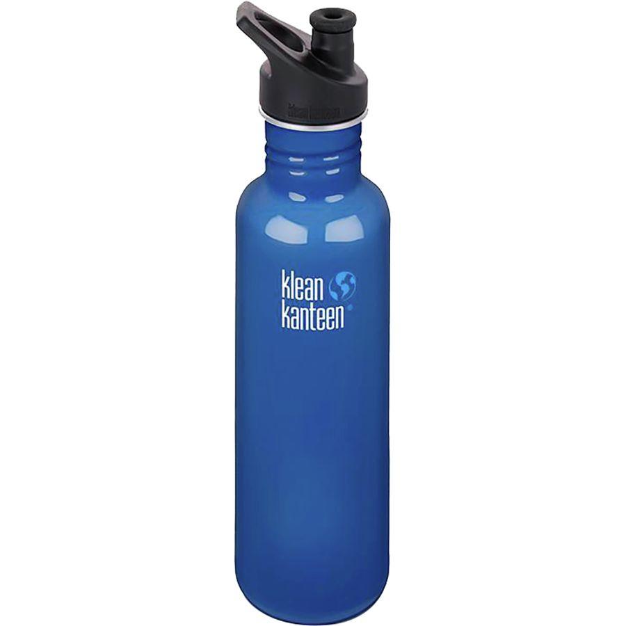 Klean Kanteen 27oz Classic Water Bottle With Sport Cap