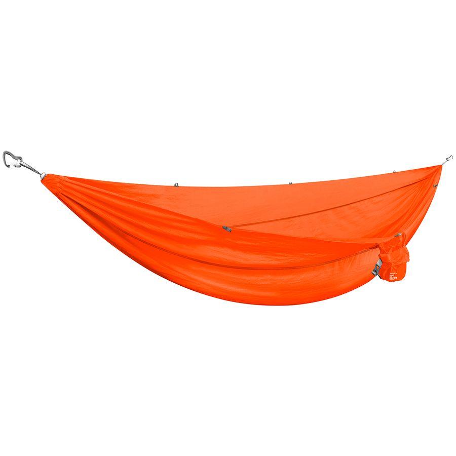 kammok   roo double hammock   ember  orange  kammok roo double hammock   backcountry    rh   backcountry