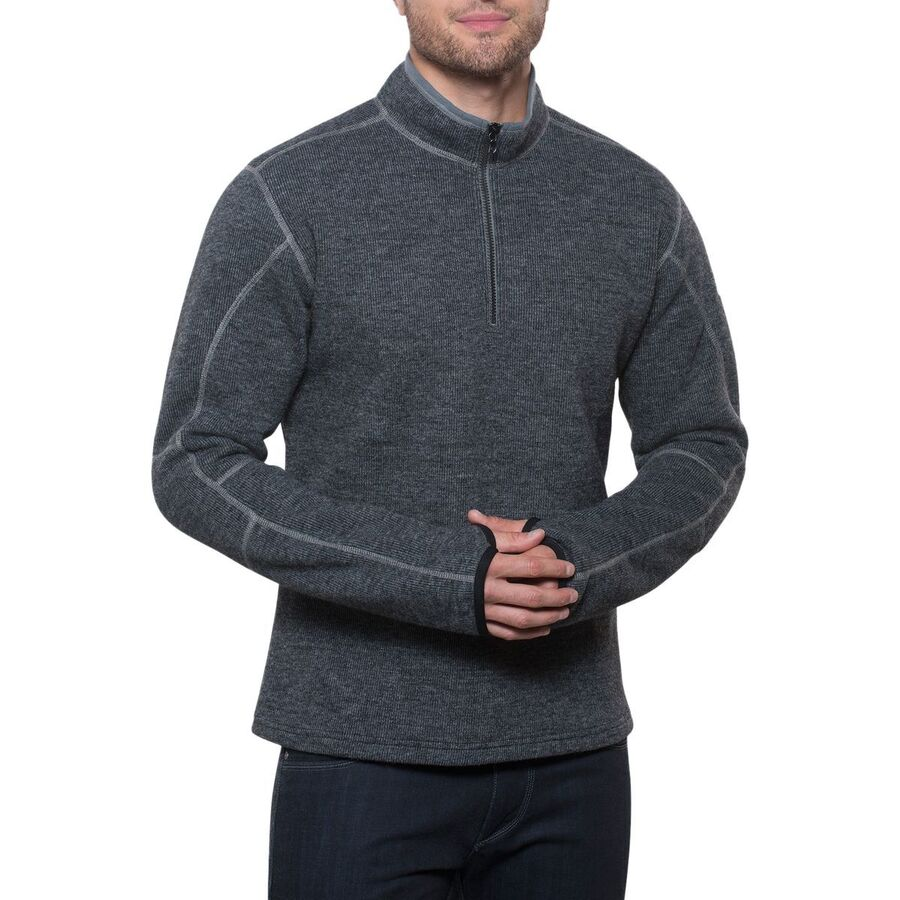 24136d5145a KUHL - Thor Fleece Pullover - 1 4-Zip - Men's - Graphite