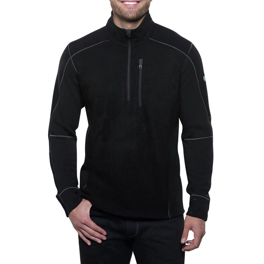 840c26a5151 KUHL - Interceptr 1 4-Zip Fleece Jacket - Men s - Black