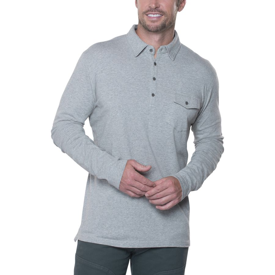 KÜHL Stir Polo Shirt - Long-Sleeve - Mens