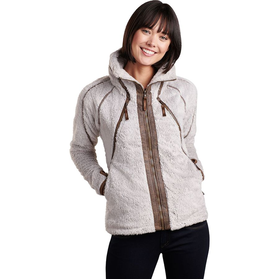 e1caf8e519 KUHL - Flight Fleece Jacket - Women s - Stone