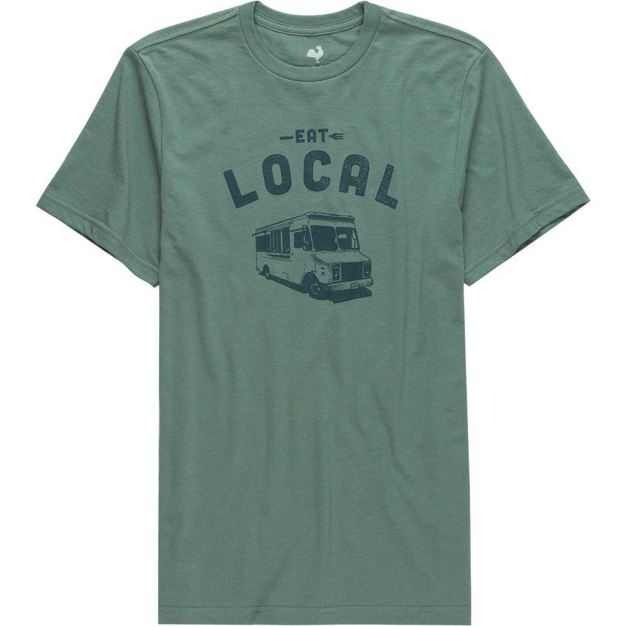 Locally Grown Eat Local - Food Van T-Shirt - Men's ...