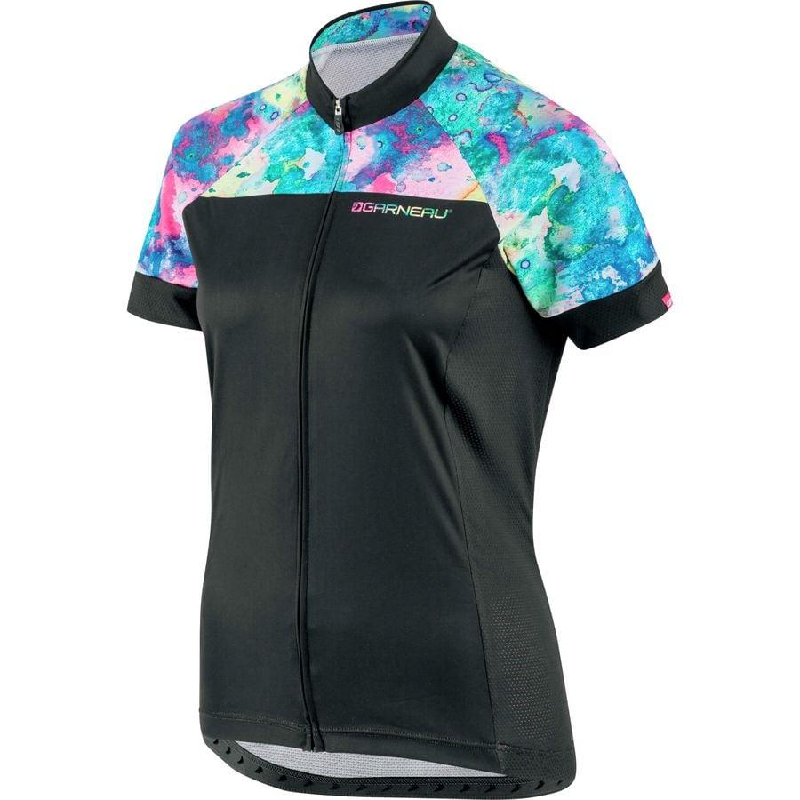 Louis Garneau - Equipe Jersey - Short-Sleeve - Women s - Black Multi a1f55e941