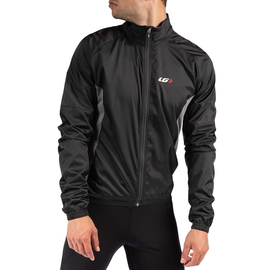 Louis Garneau - Modesto 3 Cycling Jacket - Men s - Black Gray aa98fd2bf