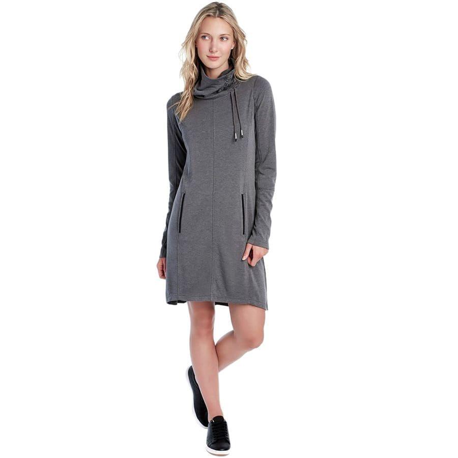 Lolë Call Me Stretch Fleece Dress - Womens