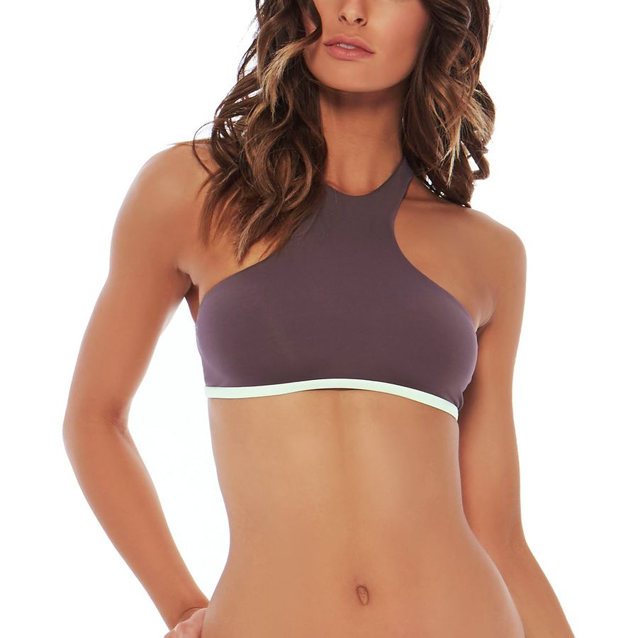 L Space Haute Solid Tank Bikini Top - Womens