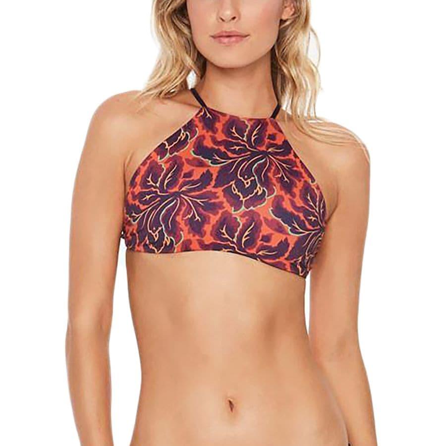 L Space Luna Print Reversible Bikini Top - Womens