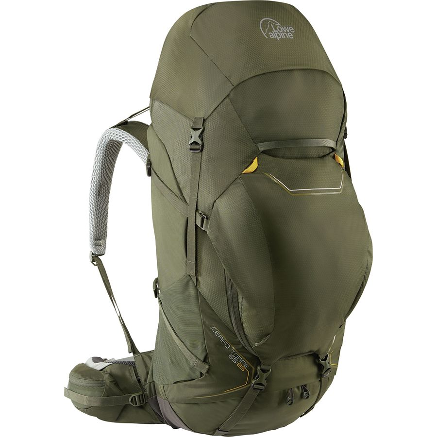 1e497482313 Lowe Alpine Cerro Torre 65:85L Backpack | Steep & Cheap