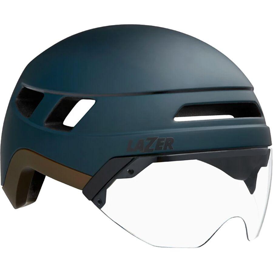 Matte Dark Blue helmet for high-speed urban commuting