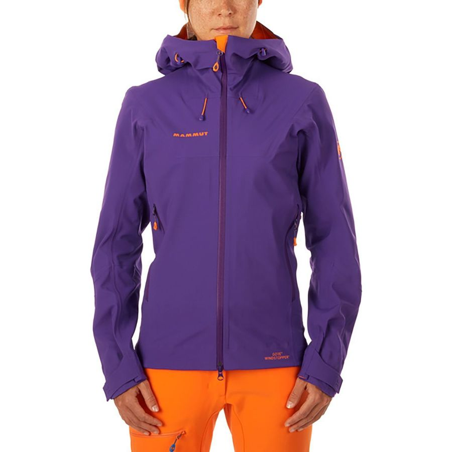 Mammut Ultimate Eisfeld SO Hooded Shell Jacket - Womens