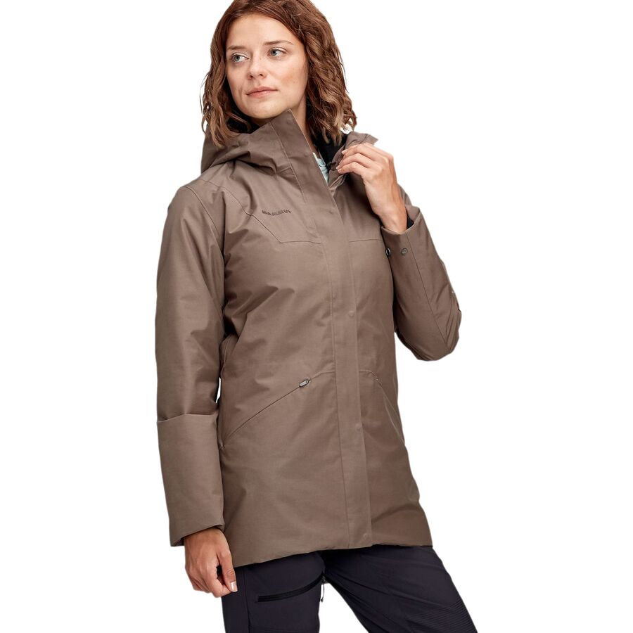 Mammut Chamuera Hs Hooded Thermo Parka Women S Backcountry Com
