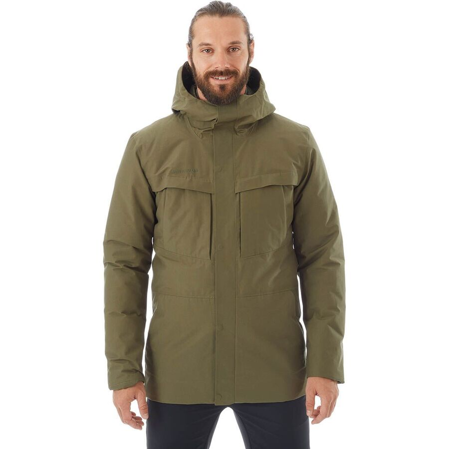 Mammut Chamuera Hs Thermo Hooded Parka Men S Backcountry Com