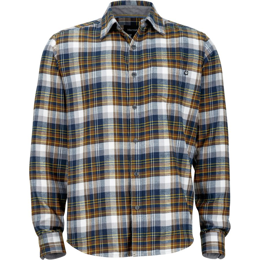 Marmot fairfax flannel shirt men 39 s up to 70 off for 9 oz flannel shirt