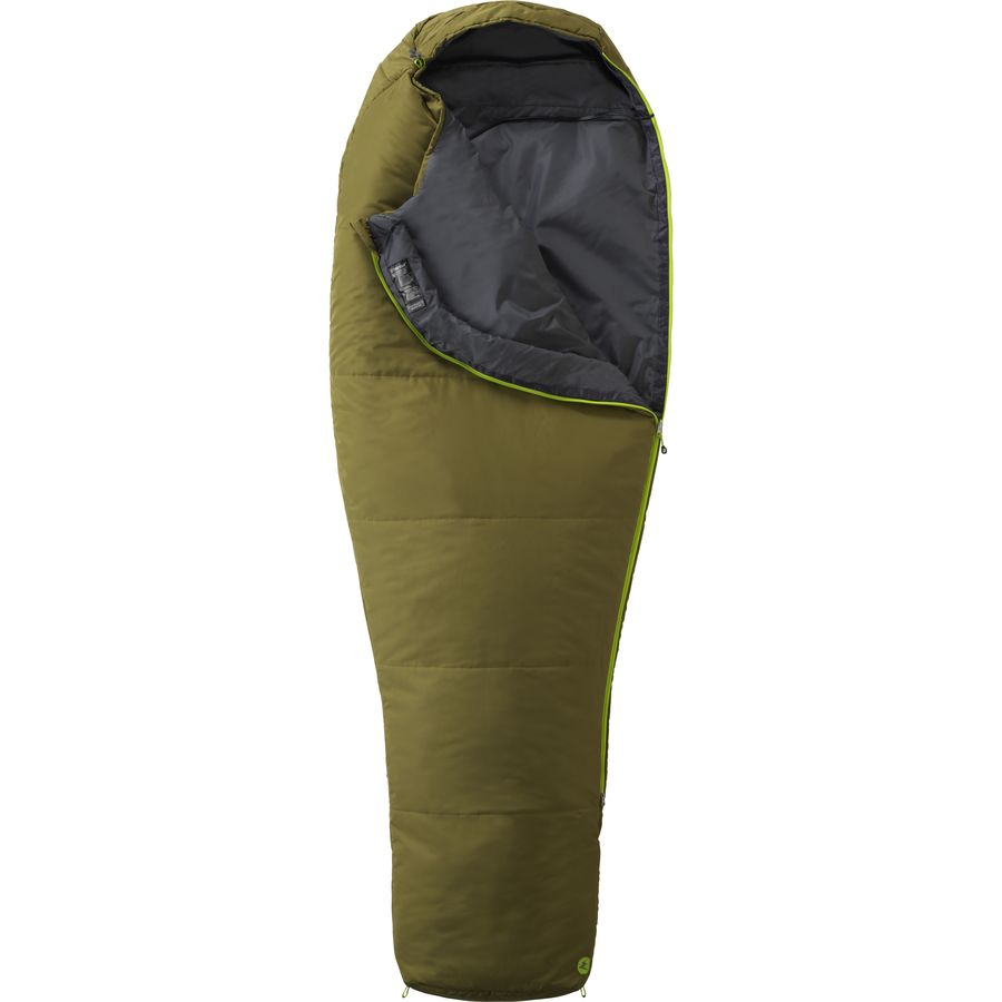 Marmot Nanowave 35 Sleeping Bag Degree Synthetic Moss