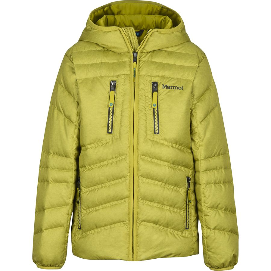 Marmot - Hangtime Down Hooded Jacket - Boys  - Citronelle 4e064e46ac64